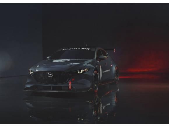 Así luce el Mazda 3 para las competiciones TCR