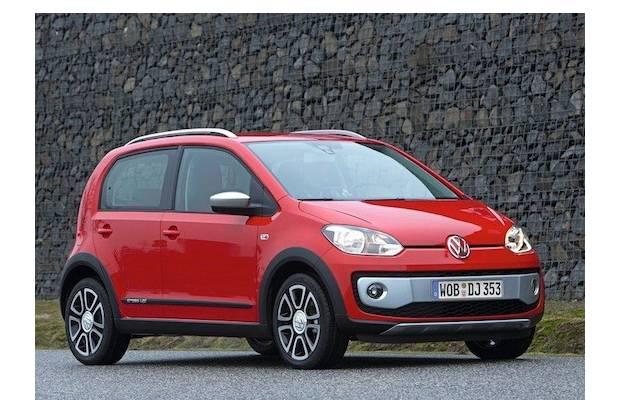 Primeras fotos del nuevo Volkswagen Cross up!