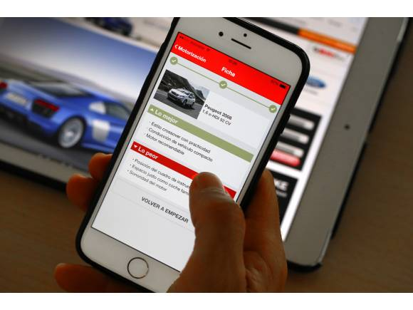 """APP """"Comparador de coches"""": Lo mejor y lo peor de todos los coches del mercado"""