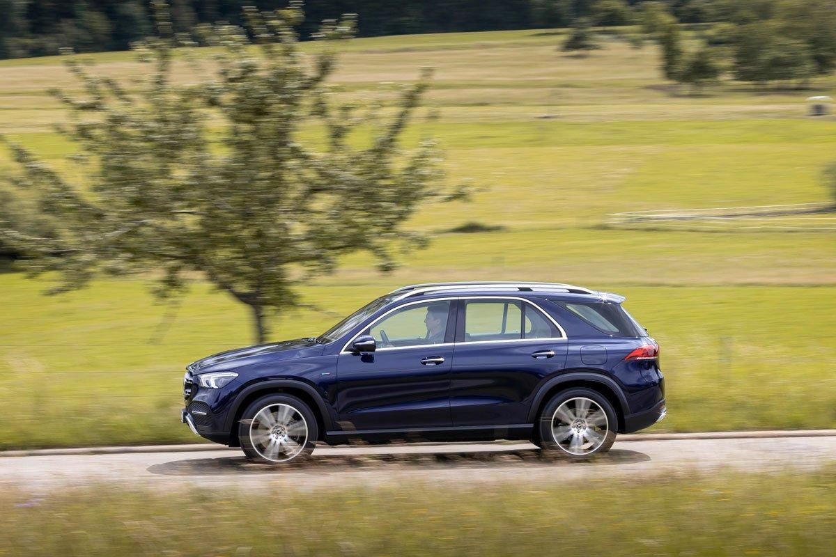 Prueba Mercedes GLE 350 de