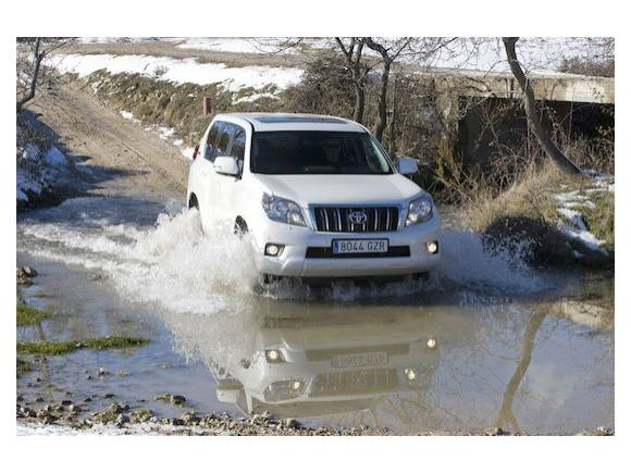 Prueba: Toyota Land Cruiser 3.0 D-4D 60 Aniversario