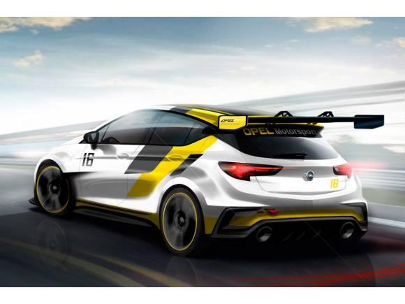 Opel presentará en Frankfurt el Astra para las TCR Series