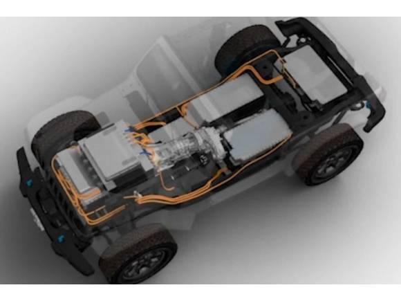 Jeep Wrangler BEV Concept: el prototipo eléctrico del mítico 4x4