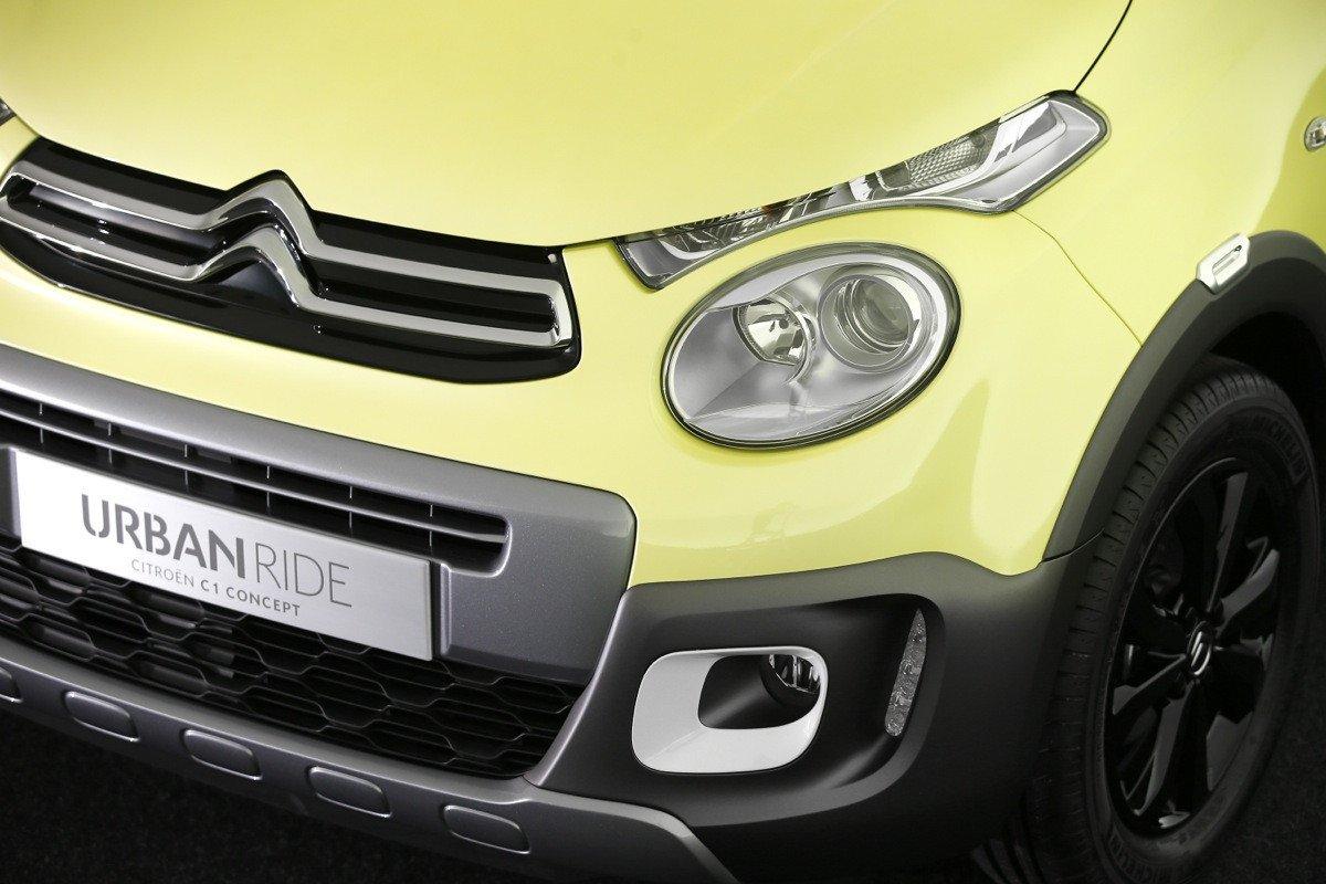 Citroën C1 concept urban ride