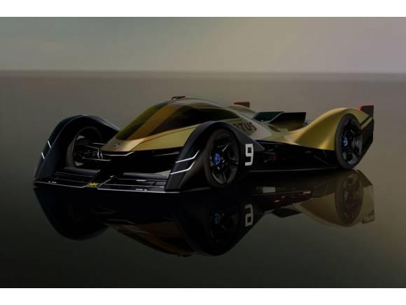 Lotus E-R9: así serán los coches de carreras en 2030
