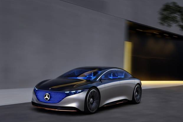 Mercedes Vision EQS, una mirada al futuro de los eléctricos