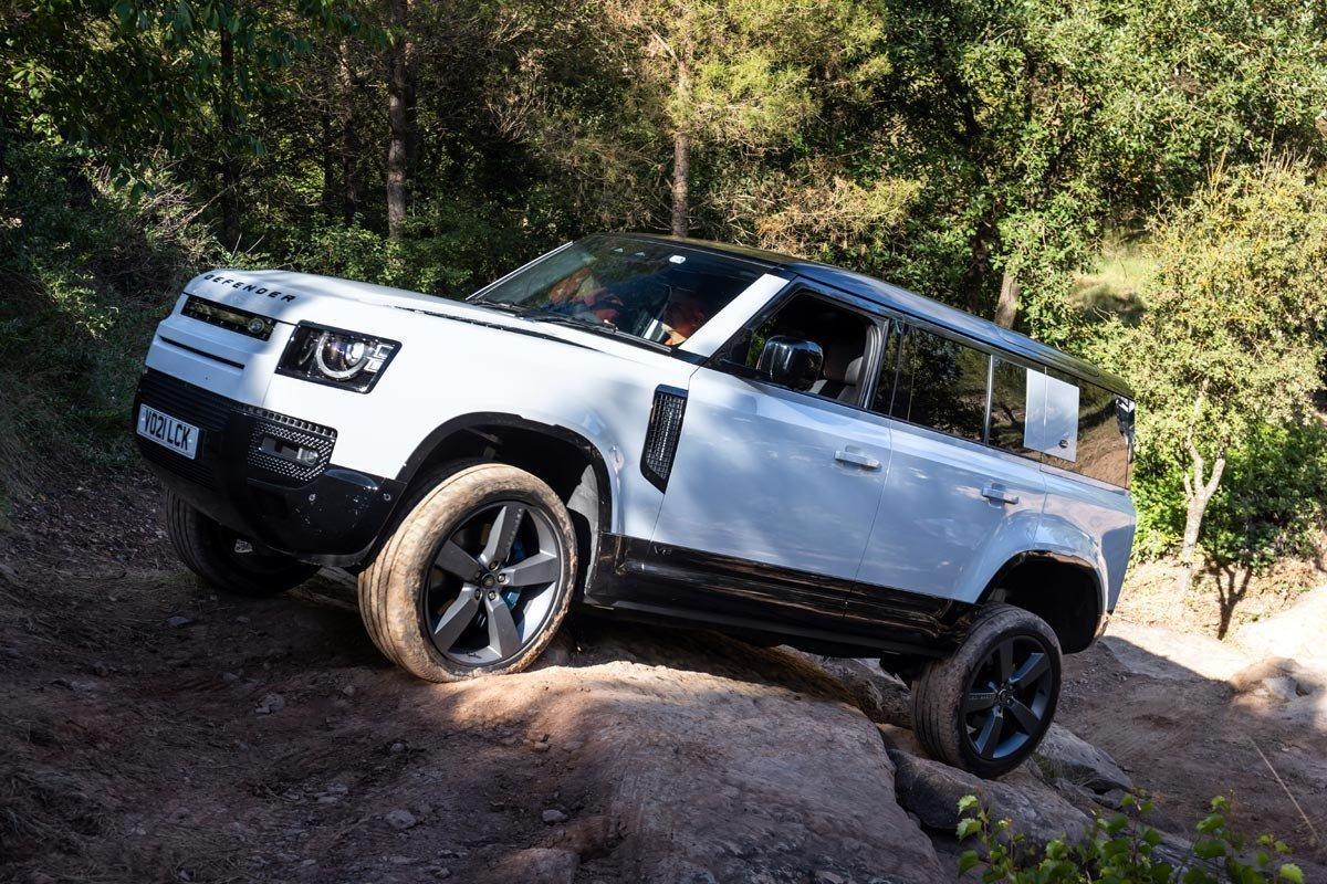 Prueba Land Rover Defender 110 PHEV