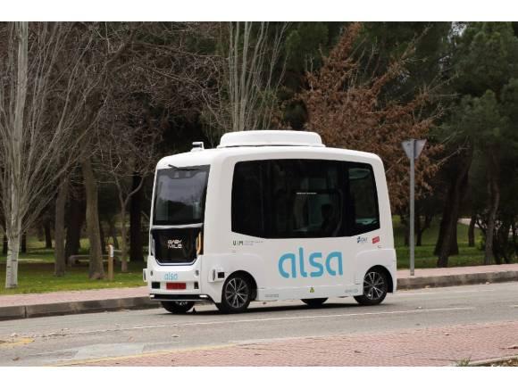 Así fue el accidente del autobús autónomo de Madrid