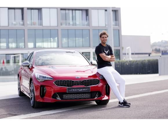 Kia Stinger: probamos el coche de Rafa Nadal