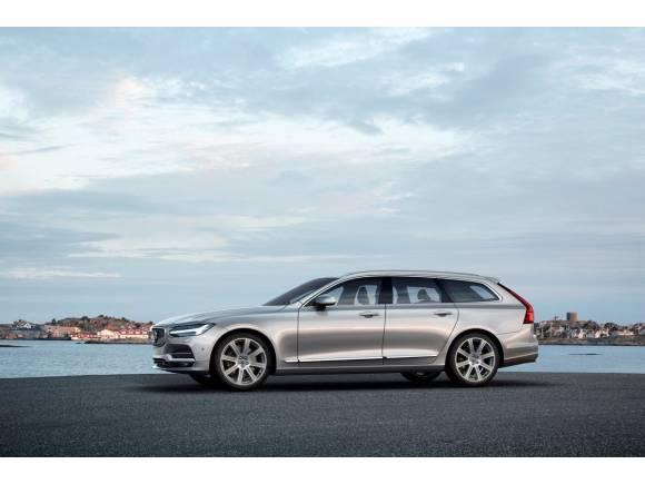 Precios del Volvo S90 y Volvo V90: desde 45.420 euros