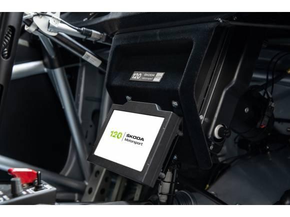 Skoda celebra sus 120 años compitiendo con una edición limitada del Fabia Rally2