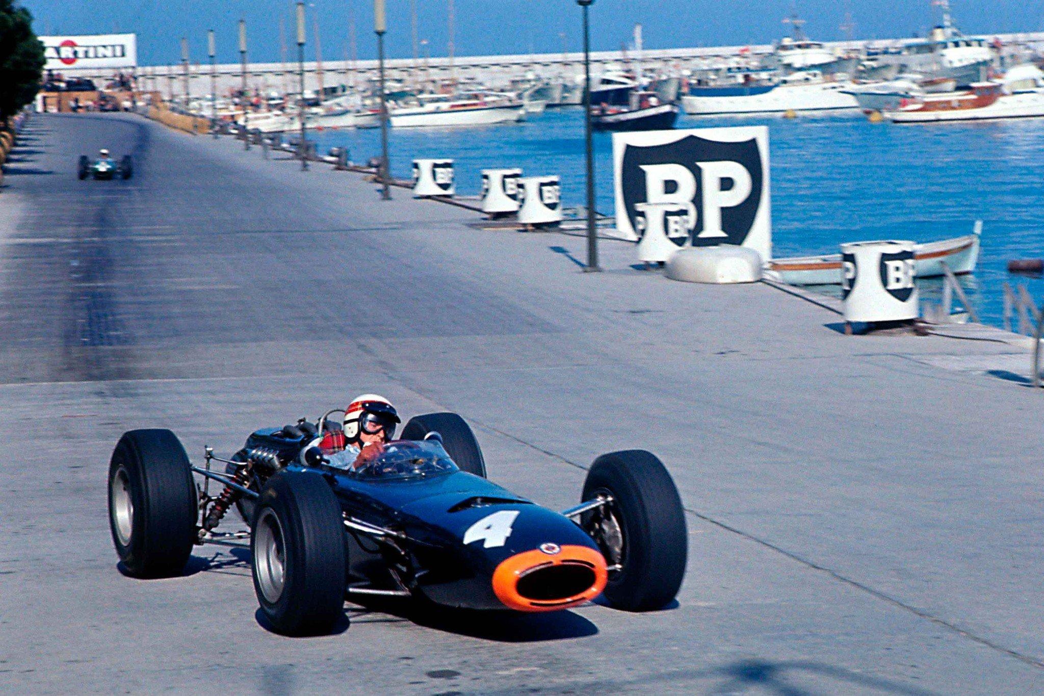 Stewart BRM Mónaco 1966