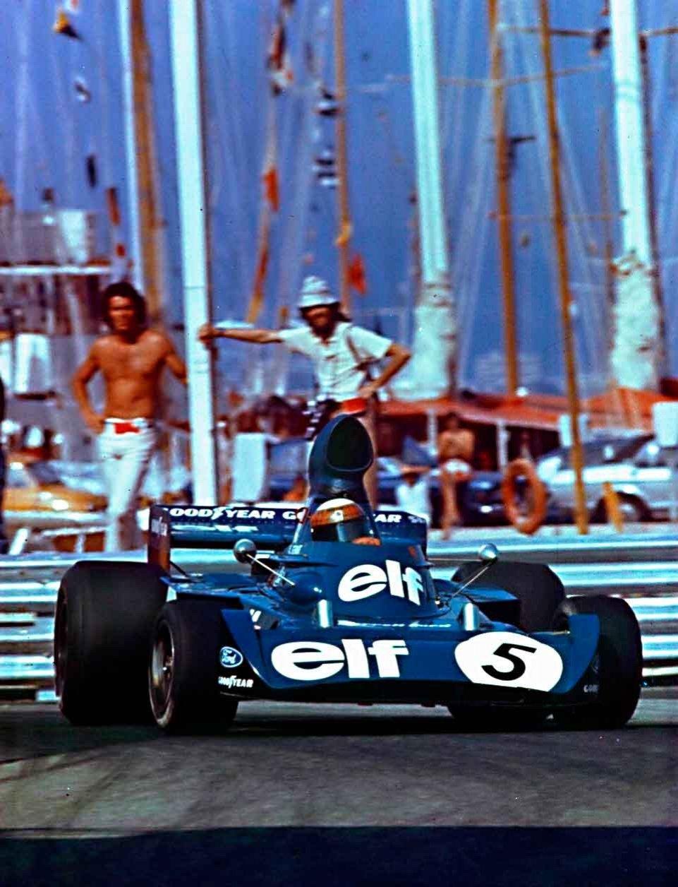 Stewart Tyrrell Mónaco 1973
