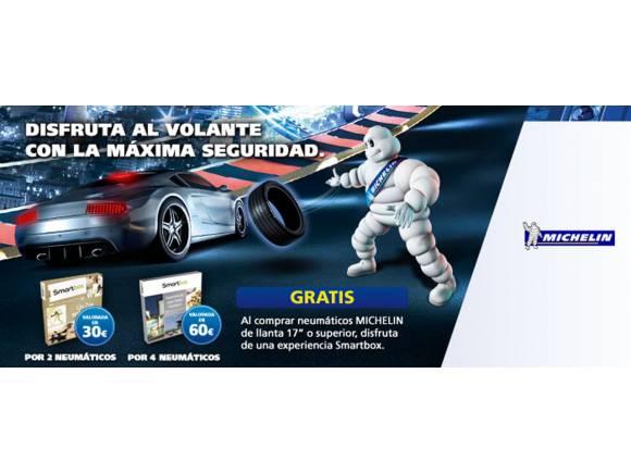 Michelin regala una experiencia Smartbox comprando neumáticos