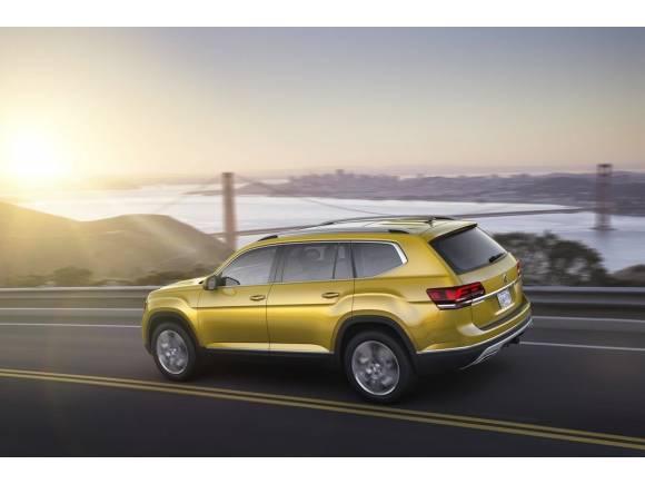 Nuevo Volkswagen Atlas, un SUV grande para USA