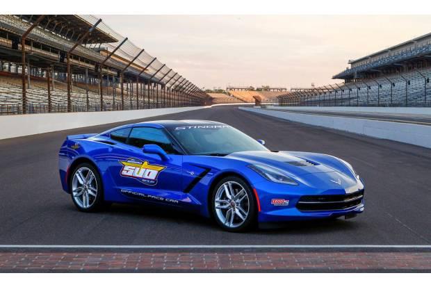 Chevrolet Corvette Stingray, safety car de las 500 millas de Indianápolis