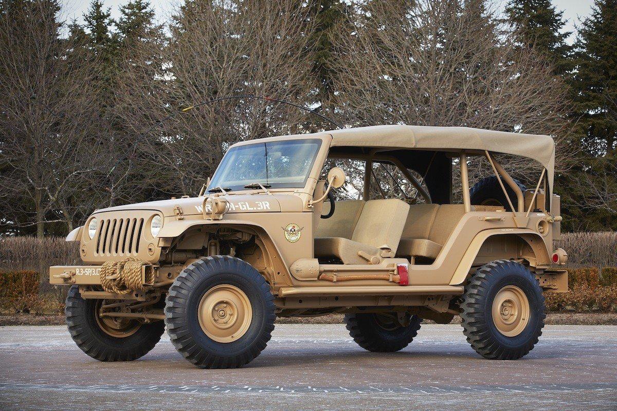 Jeep Wrangler preparado