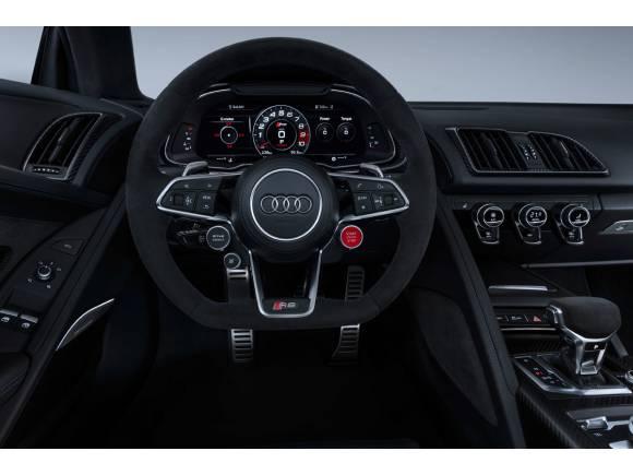 Nuevo Audi R8, nuevo diseño y motores más potentes