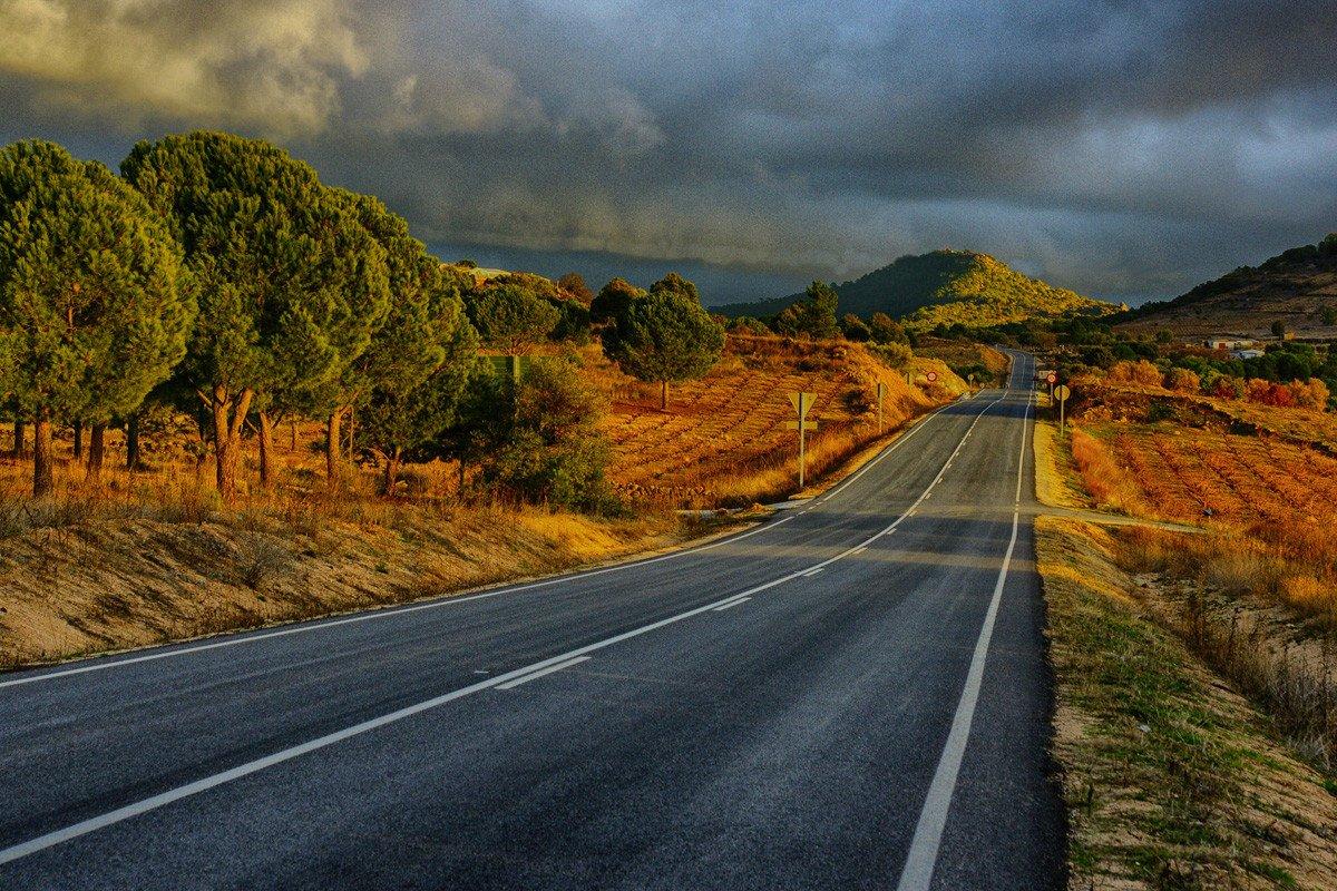 Carreteras tramos peligrosos
