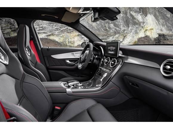 Mercedes AMG GLC 43, con motor V6 biturbo de 367 CV