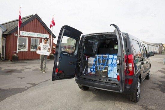 Mercedes Citan cargada