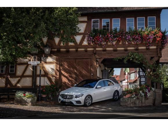 Prueba Mercedes Clase E 300 de: la apuesta híbrida diésel