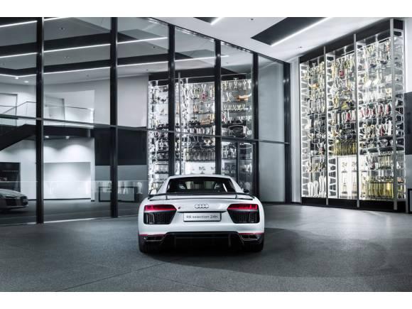 Nuevo Audi R8 LMS selection 24h, presumiendo de victorias