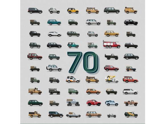Land Rover celebra hoy su 70 aniversario