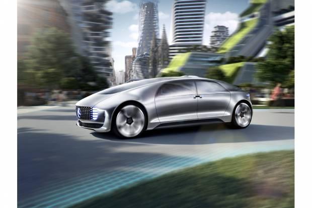 Mercedes F 05 Luxury in Motion: nuevo prototipo de conducción autónoma