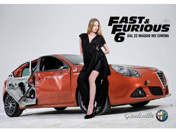 Alfa Romeo Giulietta en la película Fast & Furious 6
