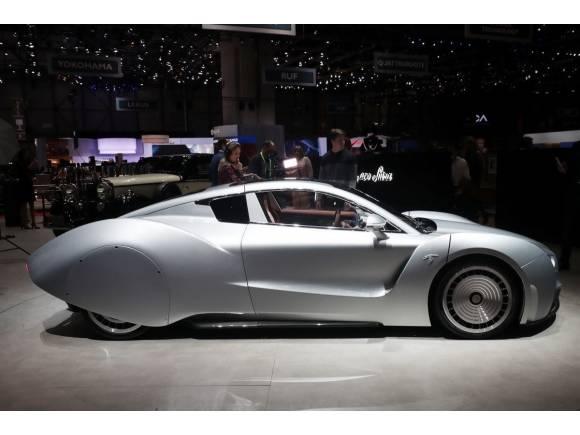 Hispano Suiza repite en el Salón de Ginebra con un prototipo de carreras