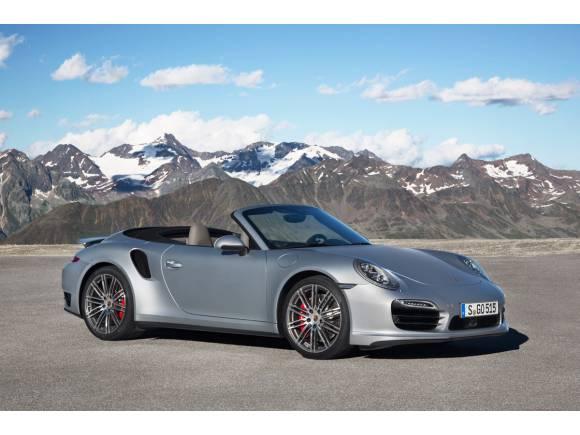 Porsche presentará los cabrio del 911 Turbo en el Salón de Los Ángeles