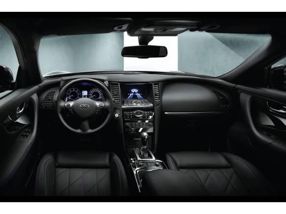Infiniti QX70 S-Design: nueva versión especial a un precio de 66.850 euros
