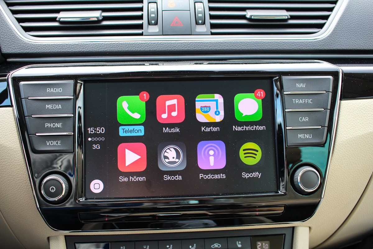 c mo funciona el apple carplay android auto y mirrorlink. Black Bedroom Furniture Sets. Home Design Ideas