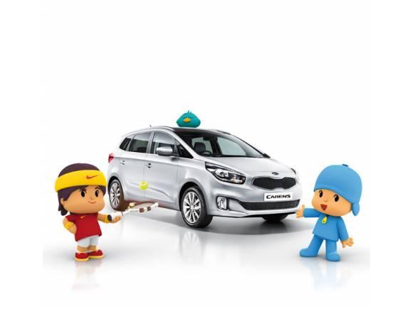 Rafa Nadal y Pocoyo se unen en el anuncio del Kia Carens