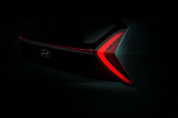 Primeras imágenes teaser del Hyundai Bayon