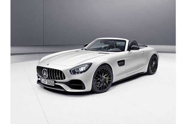 Mercedes AMG GT C Roadster Edition 50: cumpleaños feliz