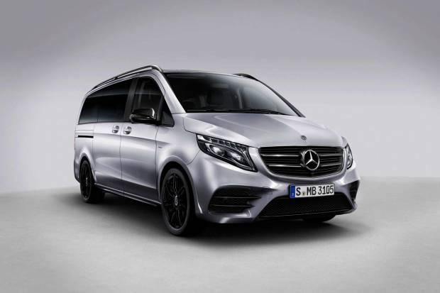 Nueva serie especial Night Edition para el Mercedes Clase V