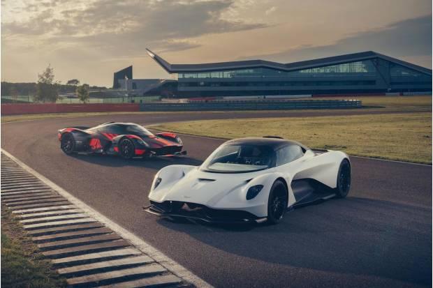 Vídeo nuevo superdeportivo Aston Martin Valhalla