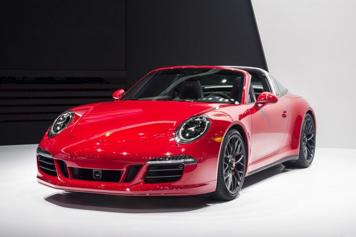 Porsche 911 Targa 4 GTS 2015