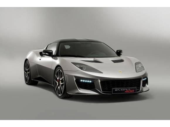 Nuevo Lotus Evora 400, el más potente de la historia
