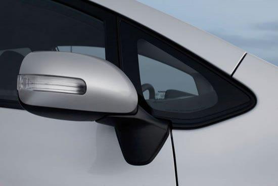Espejo retrovisor del Toyota Auris