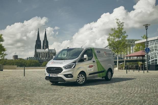 El Ford Transit se mueve con combustible ecológico hecho con aceite de cocina