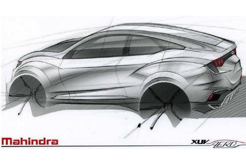 Mahindra XUV Aero SUV Concept