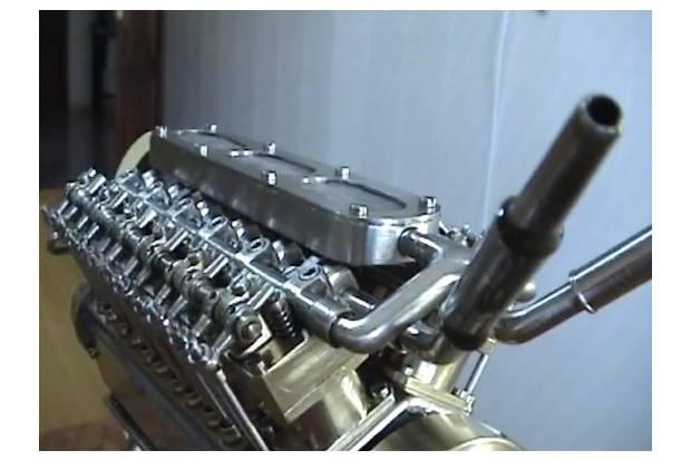Vídeo: El motor V12 más pequeño del mundo