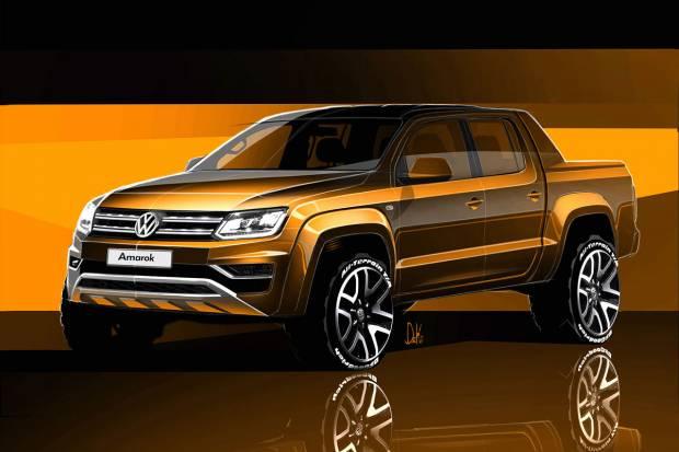 Así será el futuro Volkswagen Amarok