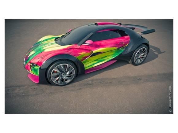 Versión ArtCar del prototipo Citroën Survolt
