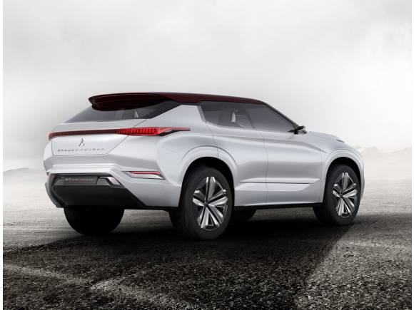 Mitsubishi Ground Tourer Concept: otro SUV híbrido enchufable para París
