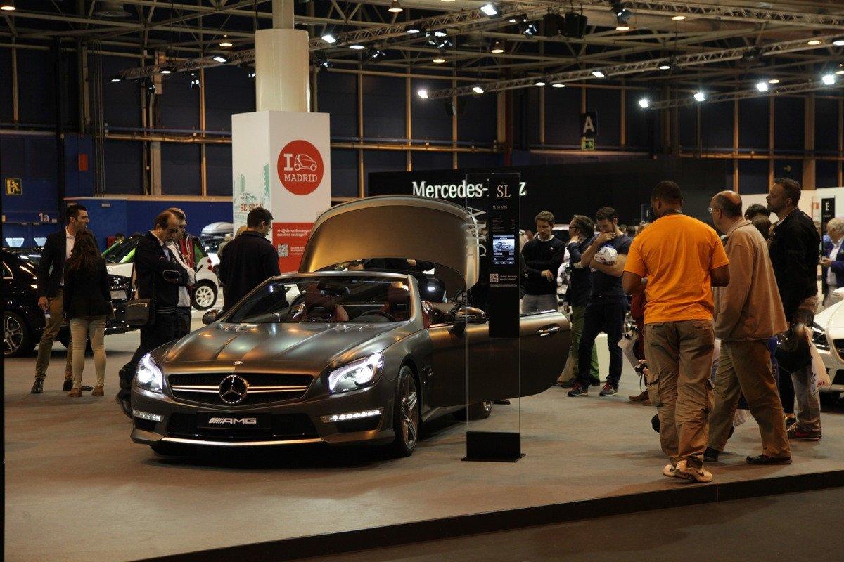 Mercedes n- Salón de Madrid 2014