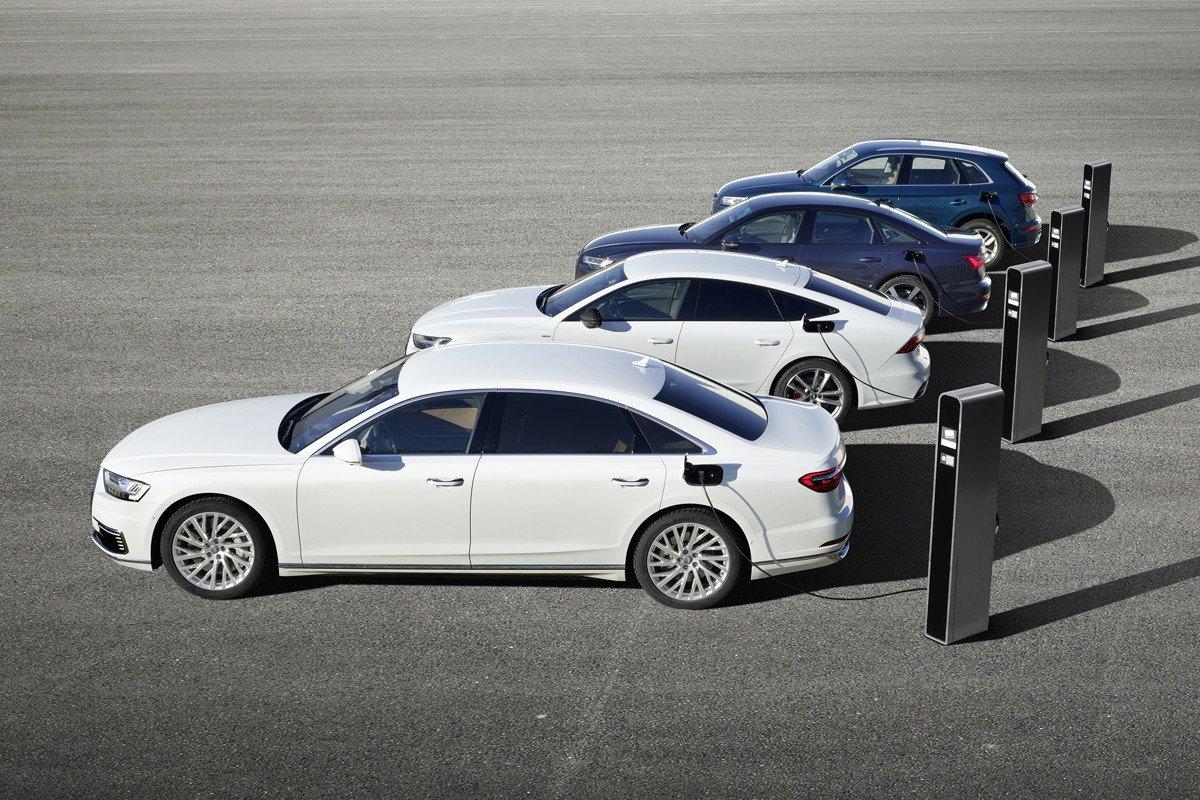 Audi hibrido enchufable